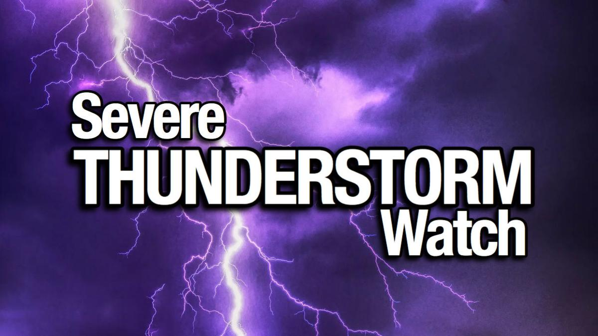 Watch: Severe thunderstorm watch for all of South Jersey ...   Thunderstorm Warning